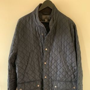 H&M quilted barn coat